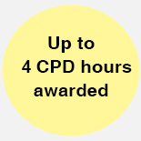 Up to 4 CPD hours awarded